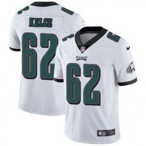Eagles Jason Kelce White Jersey